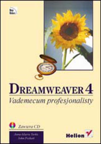 Okładka książki/ebooka Dreamweaver 4. Vademecum profesjonalisty