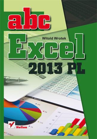 Okładka książki ABC Excel 2013 PL