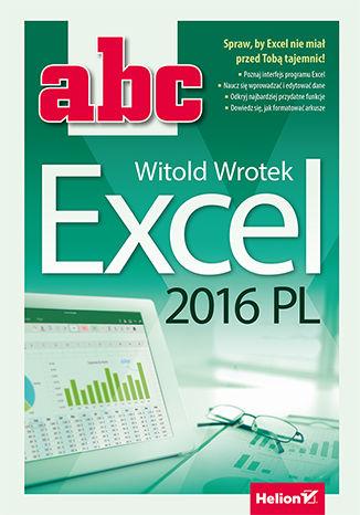 Okładka książki ABC Excel 2016 PL