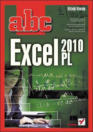 Okładka książki ABC Excel 2010 PL