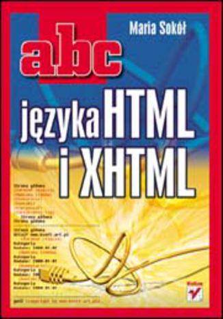 Okładka książki/ebooka ABC języka HTML i XHTML