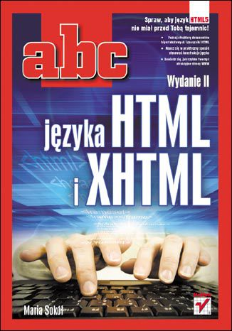 Okładka książki/ebooka ABC języka HTML i XHTML. Wydanie II