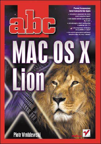 Okładka książki/ebooka ABC MAC OS X Lion