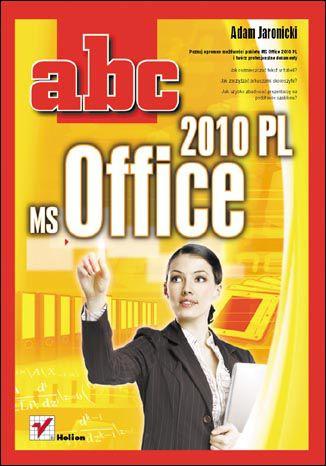 Okładka książki/ebooka ABC MS Office 2010 PL