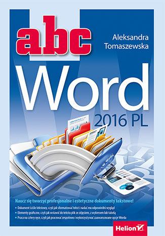 Okładka książki ABC Word 2016 PL