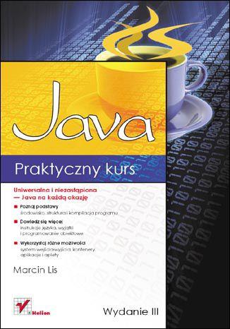 Okładka książki/ebooka Praktyczny kurs Java. Wydanie III
