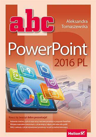 Okładka książki/ebooka ABC PowerPoint 2016 PL