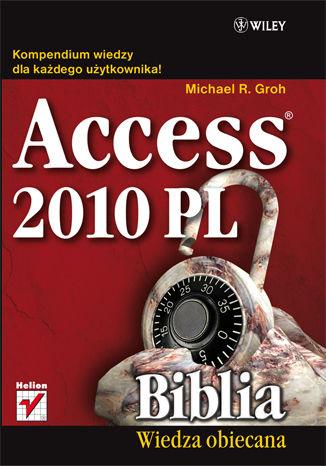 Okładka książki/ebooka Access 2010 PL. Biblia