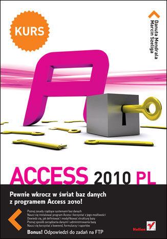 Okładka książki Access 2010 PL. Kurs