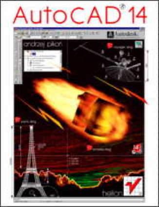Okładka książki/ebooka AutoCAD 14 dla Windows (twarda oprawa)