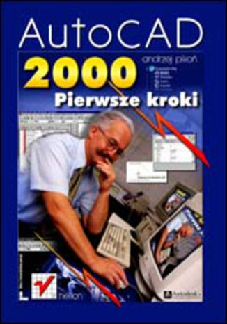 Okładka książki/ebooka AutoCAD 2000. Pierwsze kroki