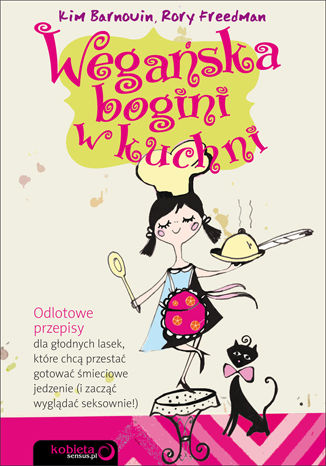 Okładka książki/ebooka Wegańska bogini w kuchni