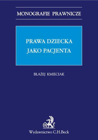 Okładka książki/ebooka Prawa dziecka jako pacjenta