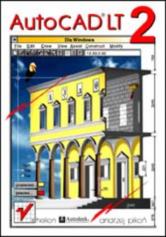 Okładka książki/ebooka AutoCAD LT2 dla Windows