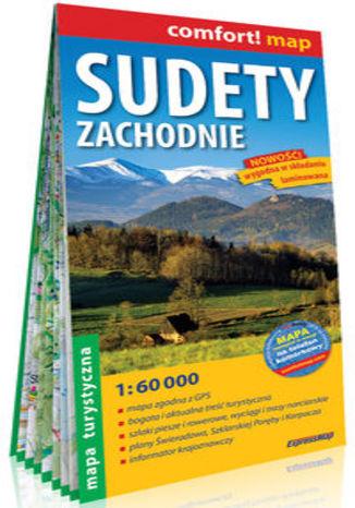 Okładka książki/ebooka Sudety Zachodnie laminowana mapa turystyczna 1:60 000