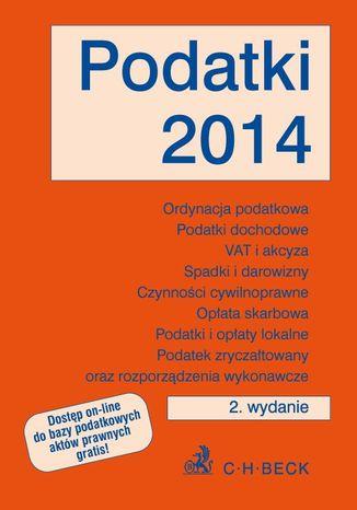 Okładka książki/ebooka Podatki 2014. Wydanie 2