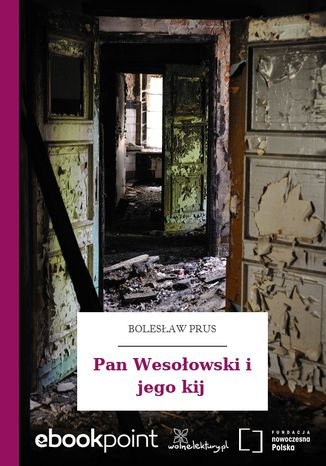 Okładka książki/ebooka Pan Wesołowski i jego kij