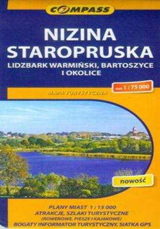 Okładka książki/ebooka Nizina Staropruska, Lidzbark Warmiński, Bartoszyce i okolice. Mapa turystyczna Compass 1:75 000