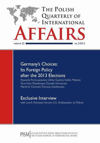 Okładka książki/ebooka The Polish Quarterly of International Affairs 2/2013