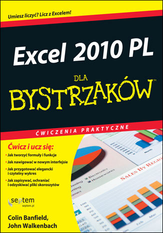 Okładka książki/ebooka Excel 2010 PL. Ćwiczenia praktyczne dla bystrzaków