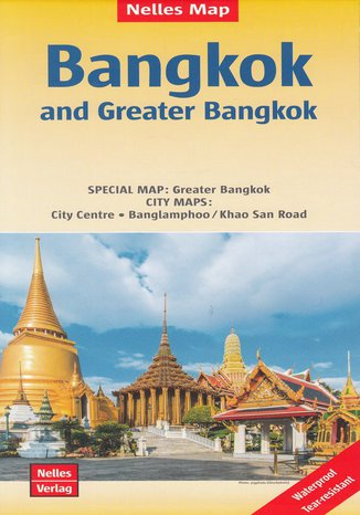 Okładka książki/ebooka Bangkok and Greater Bangkok, 1:15 000 / 1:75 000
