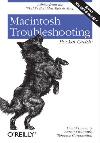 Okładka książki/ebooka Macintosh Troubleshooting Pocket Guide for Mac OS