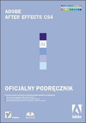Okładka książki Adobe After Effects CS4. Oficjalny podręcznik
