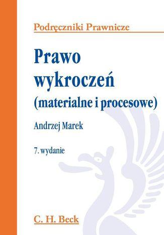 Okładka książki/ebooka Prawo wykroczeń (materialne i procesowe). Wydanie 7