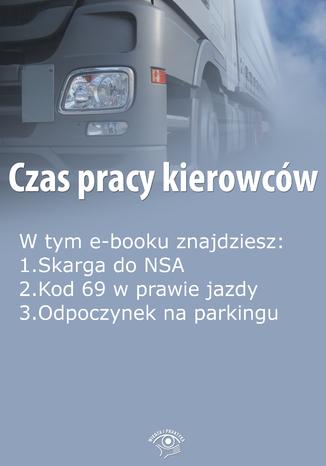 Okładka książki/ebooka Czas pracy kierowców, wydanie październik 2015 r. część II