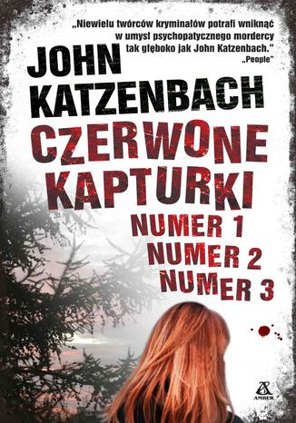 Okładka książki/ebooka Czerwone kapturki Numer 1, Numer 2, Numer 3