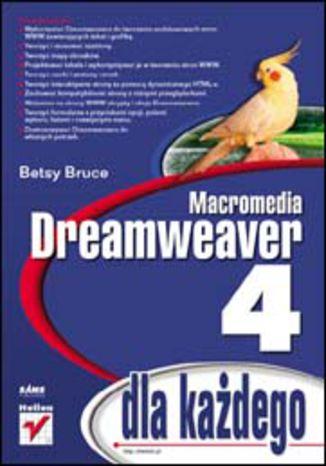 Okładka książki/ebooka Dreamweaver 4 dla każdego