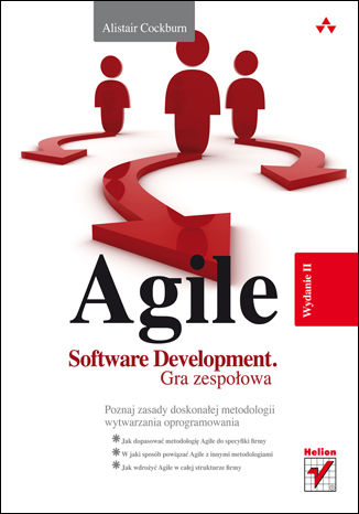 Okładka książki Agile Software Development. Gra zespołowa. Wydanie II