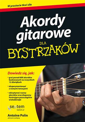 Okładka książki/ebooka Akordy gitarowe dla bystrzaków