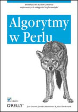 Okładka książki/ebooka Algorytmy w Perlu