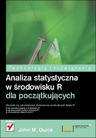 Okładka książki/ebooka Analiza statystyczna w środowisku R dla początkujących