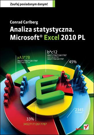 Okładka książki/ebooka Analiza statystyczna. Microsoft Excel 2010 PL