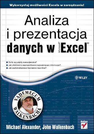 Okładka książki/ebooka Analiza i prezentacja danych w Microsoft Excel. Vademecum Walkenbacha