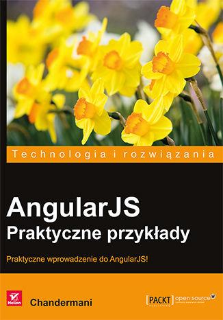 Okładka książki/ebooka AngularJS. Praktyczne przykłady