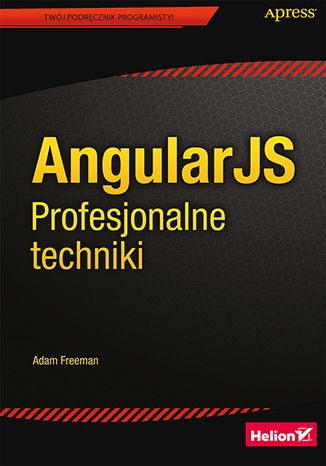 Okładka książki/ebooka AngularJS. Profesjonalne techniki