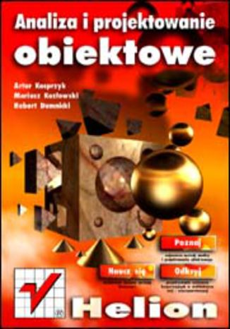 Okładka książki Analiza i projektowanie obiektowe