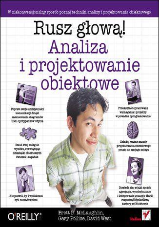 Okładka książki Analiza i projektowanie obiektowe. Rusz głową!