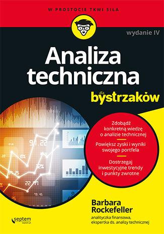 Okładka książki Analiza techniczna dla bystrzaków. Wydanie IV