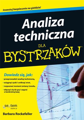 Okładka książki Analiza techniczna dla bystrzaków