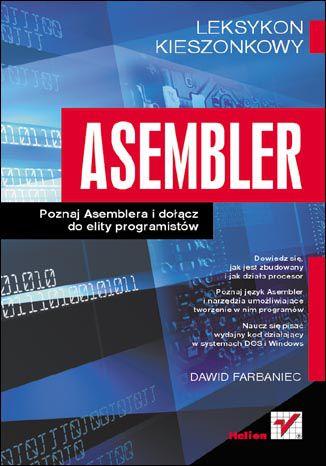 Okładka książki/ebooka Asembler. Leksykon kieszonkowy