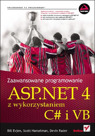 Okładka książki ASP.NET 4 z wykorzystaniem C# i VB. Zaawansowane programowanie