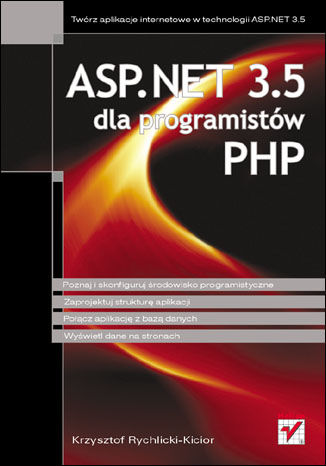 Okładka książki/ebooka ASP.NET 3.5 dla programistów PHP