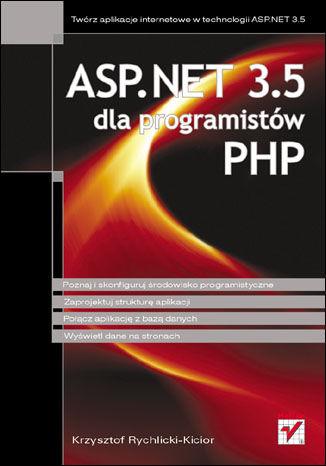 Okładka książki ASP.NET 3.5 dla programistów PHP