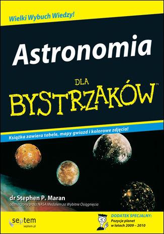 Okładka książki/ebooka Astronomia dla bystrzaków