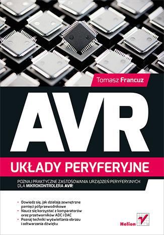 Okładka książki AVR. Układy peryferyjne