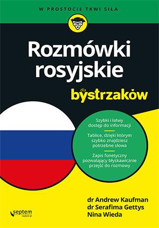 Okładka książki/ebooka Rozmówki rosyjskie dla bystrzaków